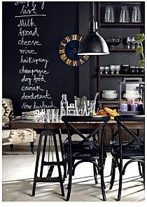 Black board idea