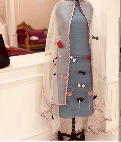 Cotton suit - Hand made suits 🌸🌸 To order or any queries plz call Or Whtsapp 7249000009 Patiala Suit Designs, Kurti Designs Party Wear, Kurta Designs, Blouse Designs, Embroidery Suits Punjabi, Hand Embroidery Dress, Embroidery Suits Design, Cutwork Embroidery, Punjabi Suits Designer Boutique