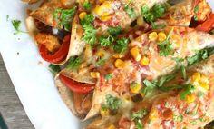 spicy kylling enchiladas - Godkjent for ukesmeny! Y Food, I Love Food, Food Porn, Good Food, Food And Drink, Enchiladas, Norwegian Food, Scandinavian Food, Food Inspiration