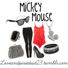 How to dress like your favorite cartoon characters - Micky/Minnie Mouse