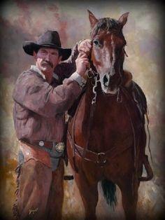 Cowboy and Horse.....
