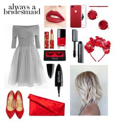 """""""Untitled #46"""" by ksuha22-11-99 on Polyvore featuring Charlotte Olympia, Jouer, Diane Von Furstenberg, Chanel, Maybelline, Bobbi Brown Cosmetics, MANGO and Kate Spade"""