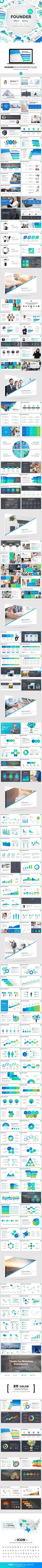 Founder Powerpoint Template - Business PowerPoint Templates