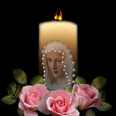 Blessed Mother's Healing Candle