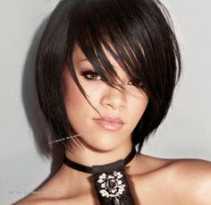 model coiffure rihanna