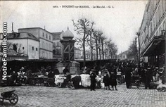 Cartes Postales Photos Le Marché 94130 NOGENT SUR MARNE val de marne (94) Ste Marguerite, Nogent Sur Marne, Seaside Resort, Filming Locations, Rotterdam, Old Pictures, Holland, Photos, Street View