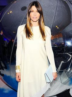 JESSICA BIEL, HOSTING THE SFA FALL COLLECTION PARTY