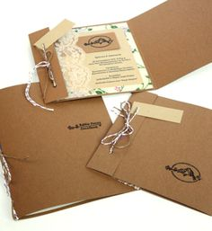 Invitation / Wedding memory kit by FIIL , via Behance