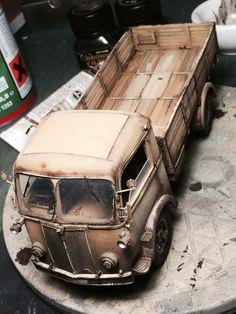 Fiat 626N Truck Model