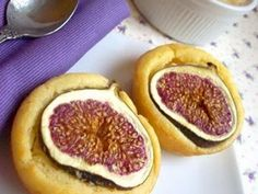 Receita Sobremesa : Muffins de figo com dip de pêra de Pamisami