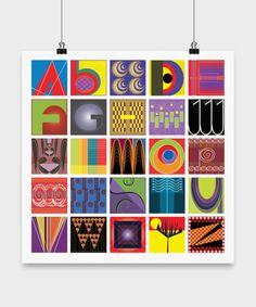 Letters Art - An Alphabet Apart