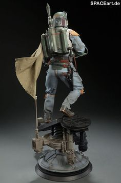 Star Wars: Boba Fett, Statue / Premium Format Figur ... https://spaceart.de/produkte/sw087.php