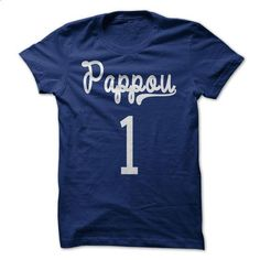 Pappou Greek Grandfather Shirt - #love gift #shirts