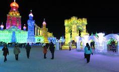 Photo Tour: Harbin Ice Festival | Everyday Travel Stories Harbin, Ice, Tours, Travel, Viajes, Destinations, Ice Cream, Traveling, Trips