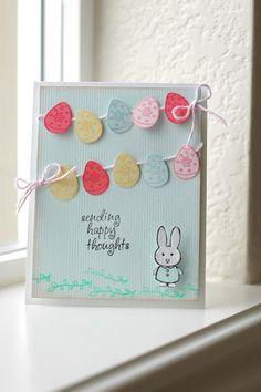 Egg banner card