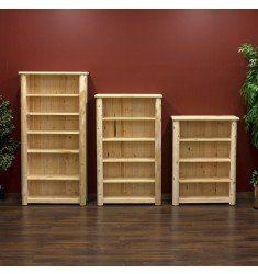 Hidden Lake Rustic Cedar Bookcase In 2020 Bookcase Rustic Bookcase Rustic