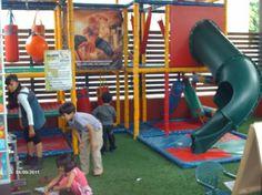 Nuestra área de juegos infantiles