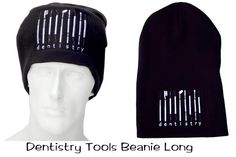 Dentistry Tools winter beanie, warm and soft from surgicalcaps.com
