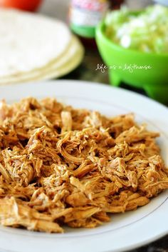 'Cafe Rio' Chicken! This chicken is so flavorful. Perfect for tacos, burritos and salads! - Life In The Lofthouse