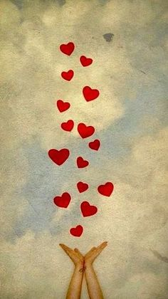 Happy birthday wishes you the way . high in the sky, with much love. Birthday Wishes, Happy Birthday, Birthday Quotes, All You Need Is Love, My Love, I Love Heart, Happy Heart, Heart Art, Grief