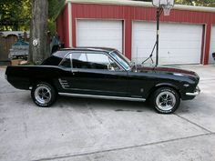 1966 Ford Mustang Coupe...hope mine looks this good when I'm done!