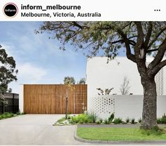 Contemporary Architecture, Interior Architecture, Interior And Exterior, Exterior Houses, Residential Architecture, Melbourne Suburbs, Dappled Light, Exterior Front Doors, Light And Space