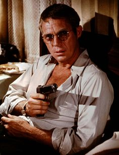 filmhall:  Steve McQueen in The Getaway