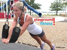 "This is genious! Why didn't I ever think of this before? No more ""we can go to the park after mommy workouts"". DUH!"