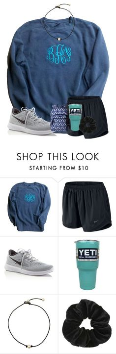 """Testing:))"" by preppy-southerngirl ❤ liked on Polyvore featuring Comfort Colors, NIKE, Miss Selfridge and Vera Bradley"