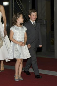 Princess Isabella of Denmark with her brother   Prince Christian June 1, 2014