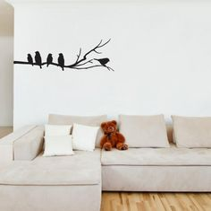 Hey, I found this really awesome Etsy listing at http://www.etsy.com/listing/120456548/wall-vinyl-sticker-wall-decal-birds-on-a