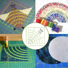 Quilting Rulers, Quilting Tools, Patchwork Quilting, Quilting Tutorials, Quilting Projects, Sewing Projects, Sewing Hacks, Machine Quilting Designs, Techniques Couture