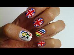 2012 Olympics Nail Art