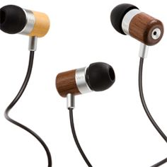 Vers 7E Sustainable Wood Earphones- Extra Base