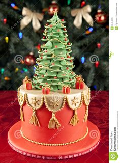 Christmas Cake - Download From Over 46 Million High Quality Stock Photos, Images, Vectors. Sign up for FREE today. Image: 22404876