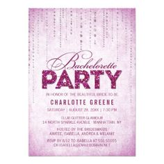 >>>Low Price          Glitter Look Bachelorette Party Invitation           Glitter Look Bachelorette Party Invitation in each seller & make purchase online for cheap. Choose the best price and best promotion as you thing Secure Checkout you can trust Buy bestThis Deals          Glitter Look...Cleck Hot Deals >>> http://www.zazzle.com/glitter_look_bachelorette_party_invitation-161354937719514364?rf=238627982471231924&zbar=1&tc=terrest
