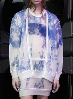 Dye effects: pre-summer 2015 juniors' catwalk trend flash