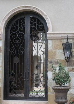 iron entryway gates