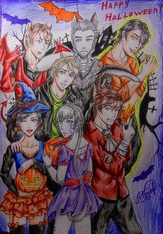 Happy Halloween!) | NinjaGo by ProNastya on DeviantArt