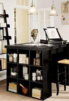 Chic office space http://rstyle.me/n/ke2gnn2bn