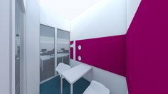 bleuelink - concept interieor design - minimeeting room at the entrance