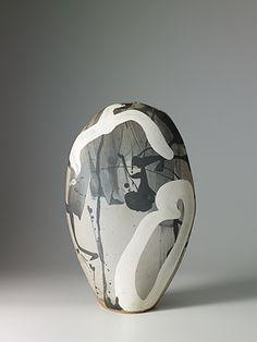 Black and white - ceramic - Monika Debus