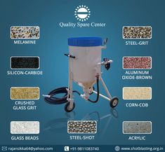 Get High Quality Sandblasting Abrasive Materials for any surface treatment . we are the lsupplier and wholesales dealer of all types of sand blasting media. Sand Blasting Machine, Media Blasting, Crushed Glass, Glass Beads, Tools, Powder Coating, Specs, Workshop, Surface