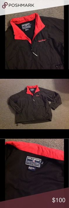 Vtg Ralph Lauren Polo Sport Lightweight Jacket XL Very nice Ralph Lauren Polo Sport Windbreaker jacket. Made of nylon in size XL. Mesh lining. Nice condition. Polo by Ralph Lauren Jackets & Coats