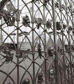 Cancelli artistici in ferro battuto (Foto)   Design Mag