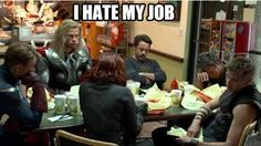 Poor avengers.. Must be rough.