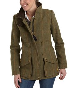 You have to adore a little bit of country - Joules FIELDCOAT Womens Tweed Jacket English Country Fashion, Country Style, Tweed Jacket, Leather Jacket, Casual Outfits, Fashion Outfits, Outdoor Fashion, Outdoor Wear, Mommy Style