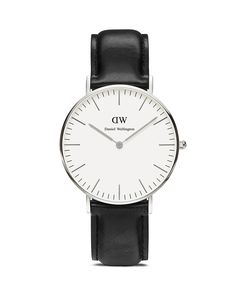 Daniel Wellington Classic Sheffield Watch, 36mm. Idk if this is for a man or woman but either way I like it!