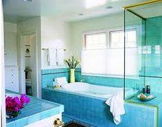 blue bathrooms - Google Search