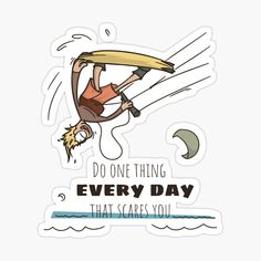 Kitesurfing, The One, Disney Characters, Fictional Characters, Stickers, Art Prints, Printed, Awesome, Funny